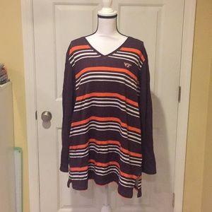 UGApparel Women's Virginia Tech Fleece Tunic